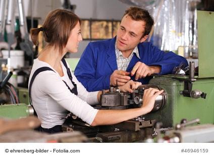 Industriemechaniker - erfolgreiche Karriere mit Lehre