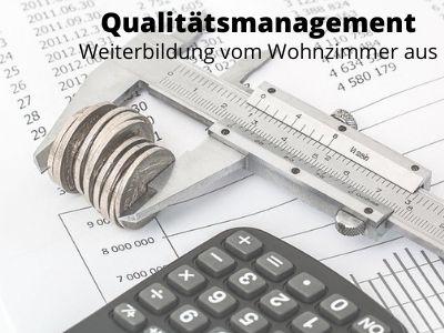 Qualitätsmanagement - Weiterbildung vom Wohnzimmer aus